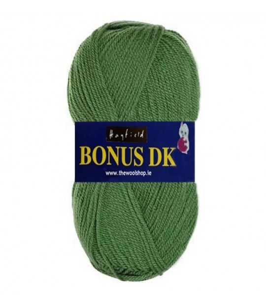 Hayfield Bonus DK Wool - Grass Green 825 - Knitting & Crochet Yarn
