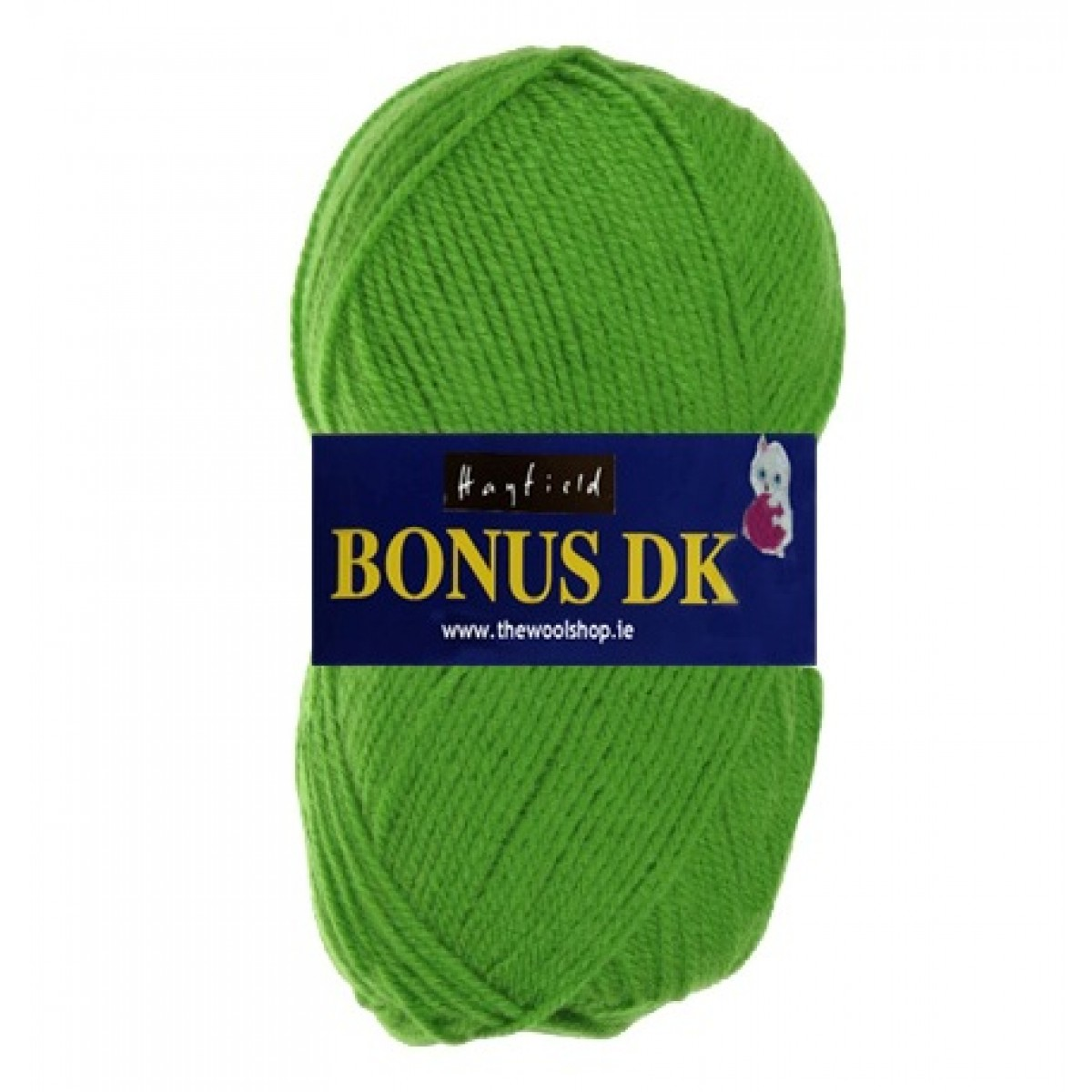 Hayfield Bonus DK Wool - Lemongrass Green 699 - Knitting & Crochet Yarn