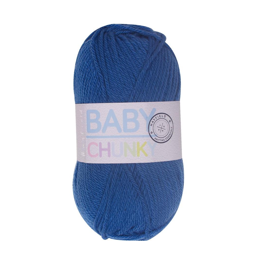 Hayfield Baby Chunky Wool - Brook Blue Yarn 403