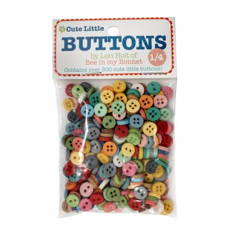 Cute Little Buttons 300 pack by Lori Holt of Bee in my Bonnet
