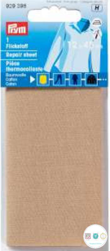 Prym Repair Sheet - Iron On - Cotton - Camel - Prym 929 398