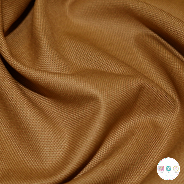 100/% Viscose Dressmaking Fabric from Creatives Beige Ochre Navy Accents