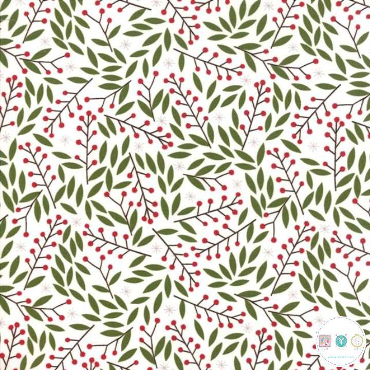 Merriment - Berry Sprigs - by Gingiber for Moda Fabrics - Patchwork & Quilting