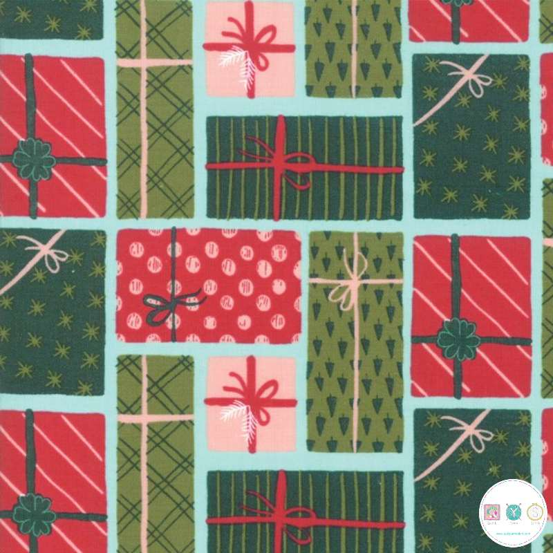 Christmas Presents - To Be Jolly - by One Canoe Two for Moda Fabrics - Patchwork & Quiltings