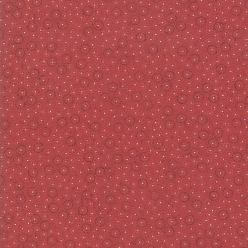 Christmas Fabric, Red Dotty Style from the Snowbound Collection by Kathy Schmitz for Moda