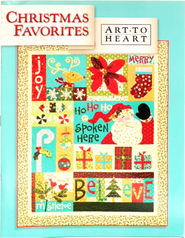 Christmas Favourites - Art to Heart - Applique Pattern Book by Nancy Halvorsen