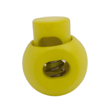 Cord Lock Lime 15mm