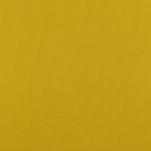 Cotton Canvas Fabric in a Curry Yellow Shade