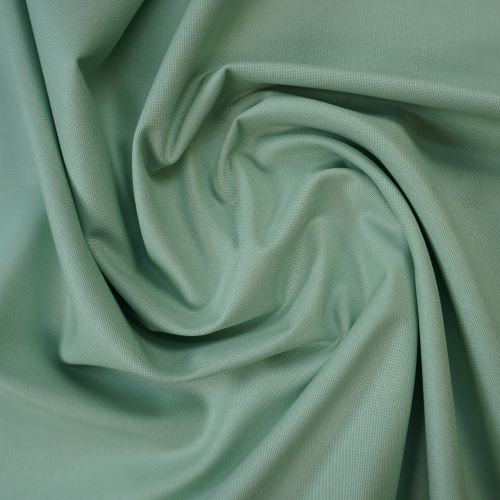 Cotton Canvas Fabric in Mint