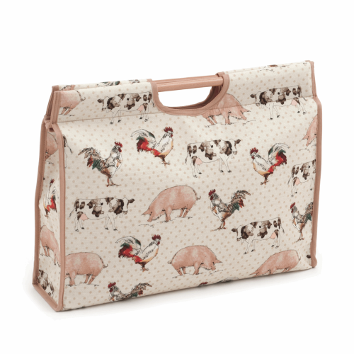 Gift Idea - Craft Bag with Farm Animals