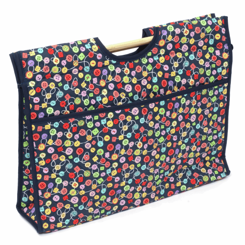 Gift Idea - Craft Bag with Buttons