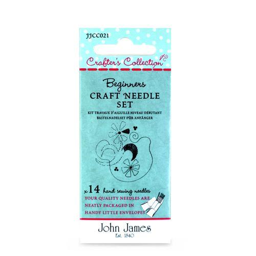 Beginners Set of needles by John James