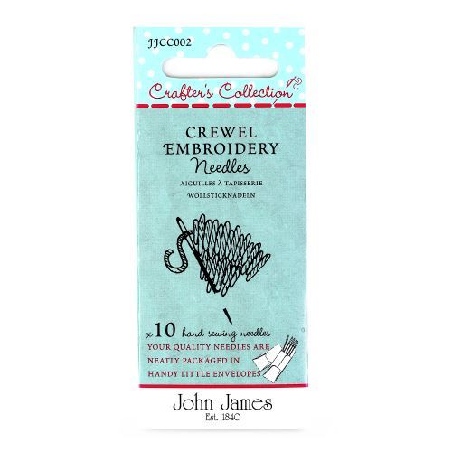 Crewel Embroidery needles by John James