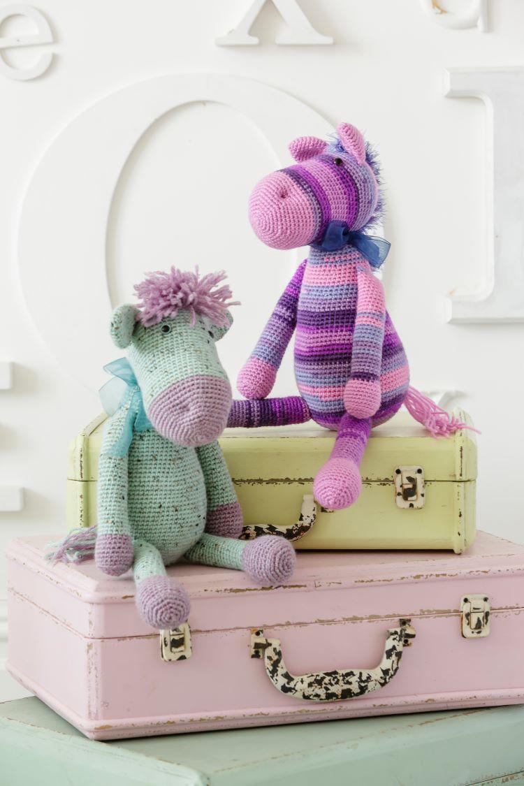 Crochet Pattern - Stylecraft 9354 DK Stable Mates, Horse and Donkey