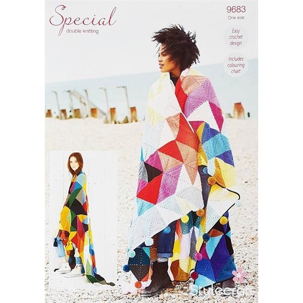 Crochet Pattern - Stylecraft 9683 Tessellation Blanket