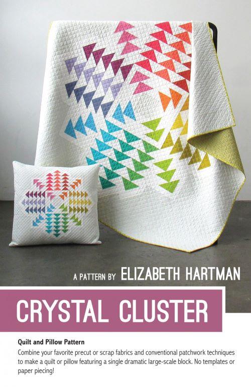Crystal Cluster Quilt Pattern
