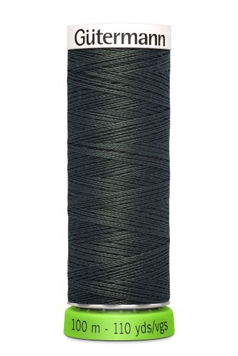 Gutermann Sew All Thread - Dark Green Recycled Polyester rPET Colour 861