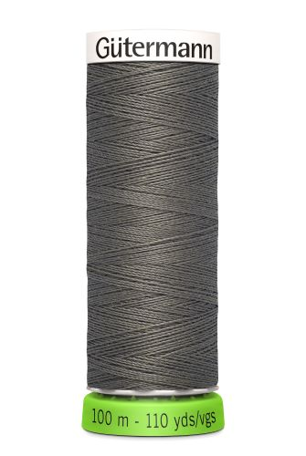 Gutermann Sew All Thread - Dark Grey Recycled Polyester rPET Colour 35