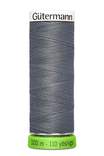 Gutermann Sew All Thread - Dark Grey Recycled Polyester rPET Colour 497