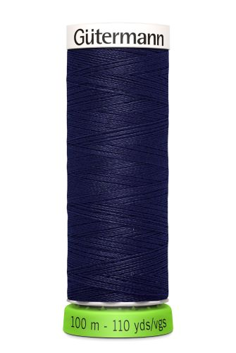 Gutermann Sew All Thread - Dark Purple Recycled Polyester rPET Colour 324