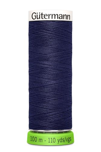 Gutermann Sew All Thread - Dark Purple Recycled Polyester rPET Colour 575