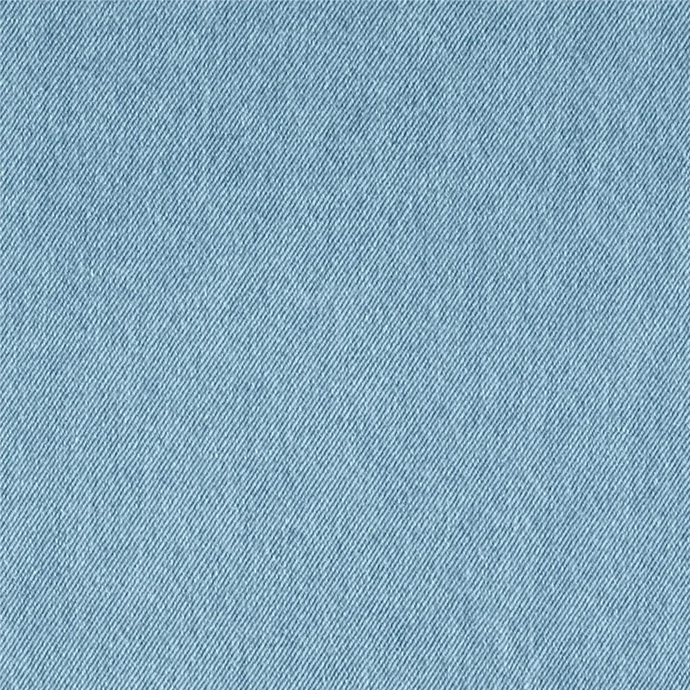 Light Blue Washed Denim Fabric 8oz - 145cm Wide