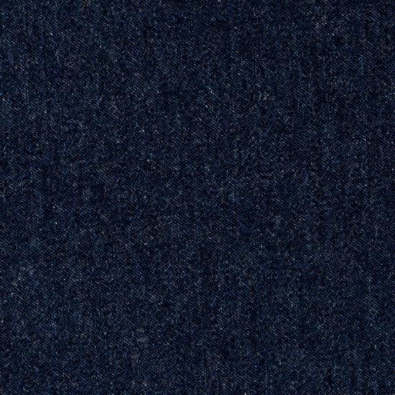 Dark Blue Washed Denim Fabric 8oz - 145cm Wide