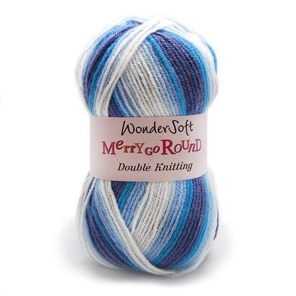 Stylecraft Wondersoft Yarn - Merry Go Round - DK Wool - Denim 3122