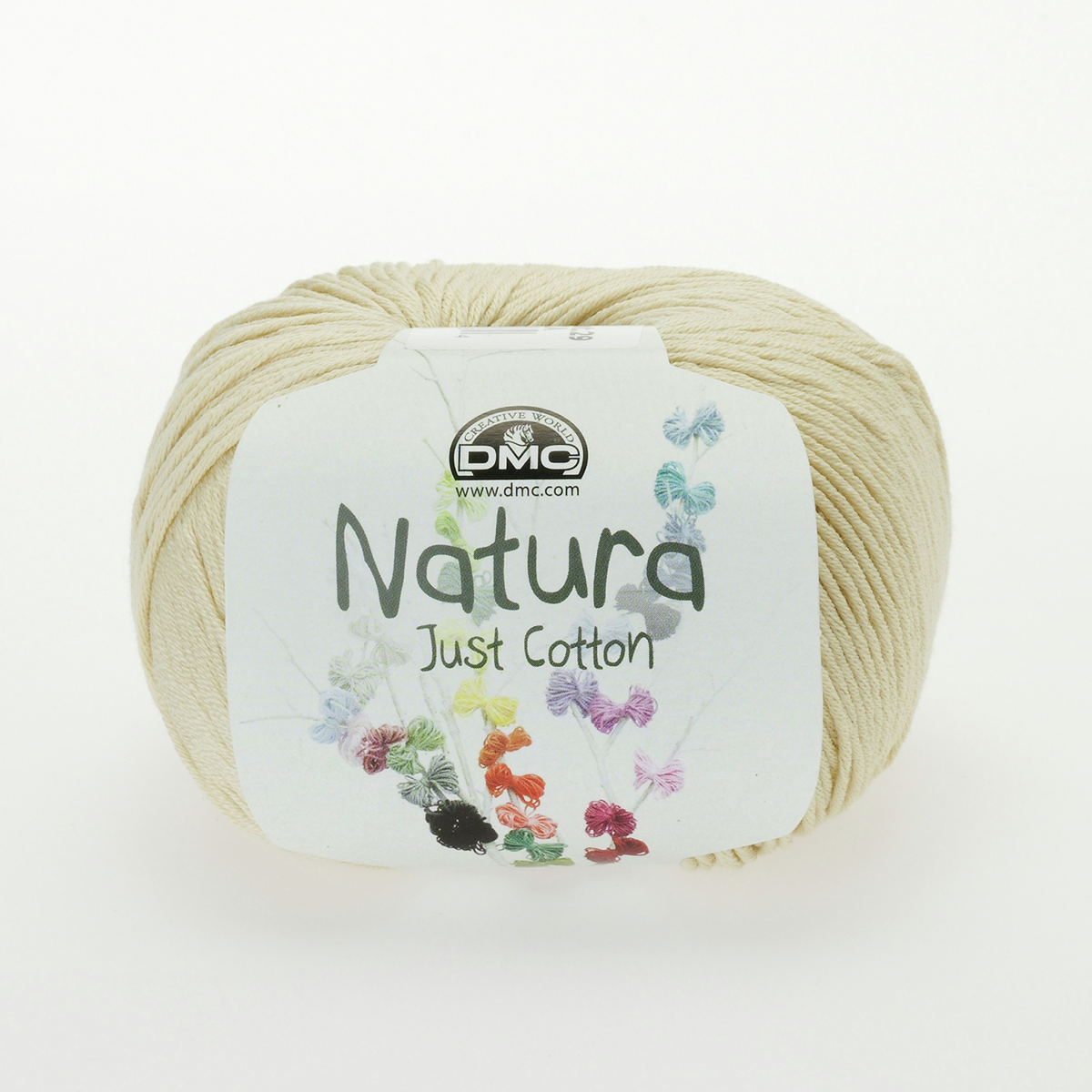 DMC Natura Just Cotton Wool - N36 Gardenia - Beige Cream