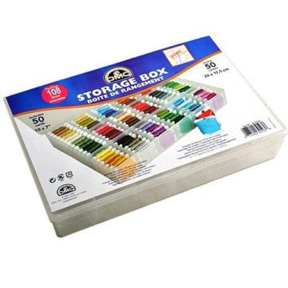 DMC Embroidery Thread Organizer Box