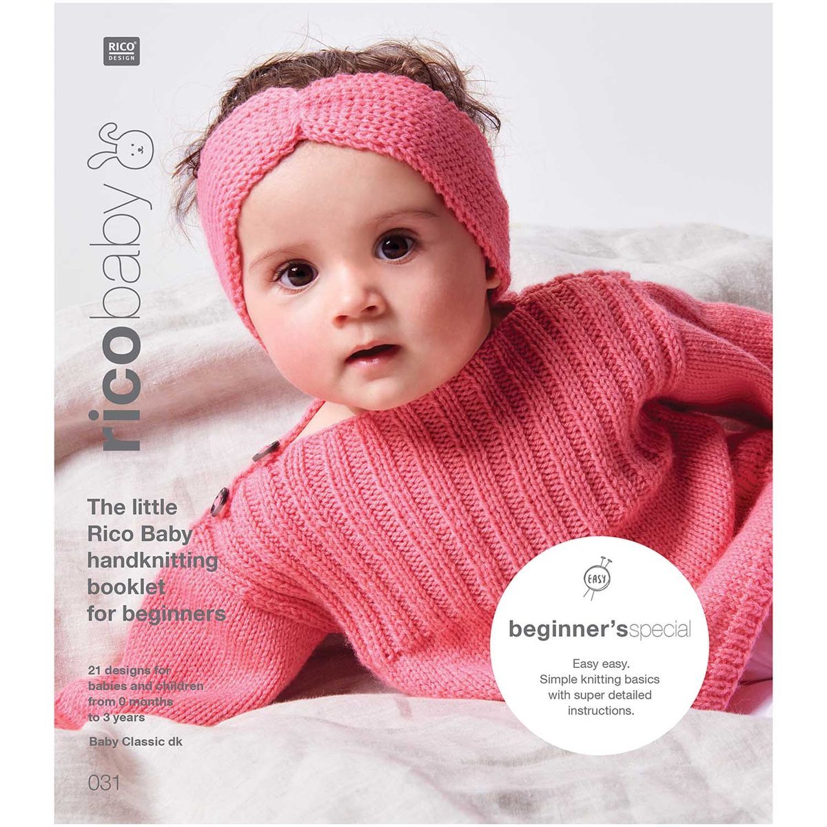 Rico Baby Hand Knit Book: Beginner's Special for DK Yarn