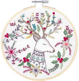 Gift Idea - King of the Forest Embroidery Kit by Un Chat dans L'aiguille