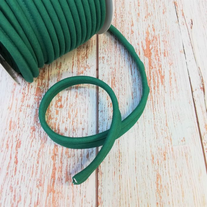 Piping in Emerald Green Col 362 - 18mm Wide by Fany