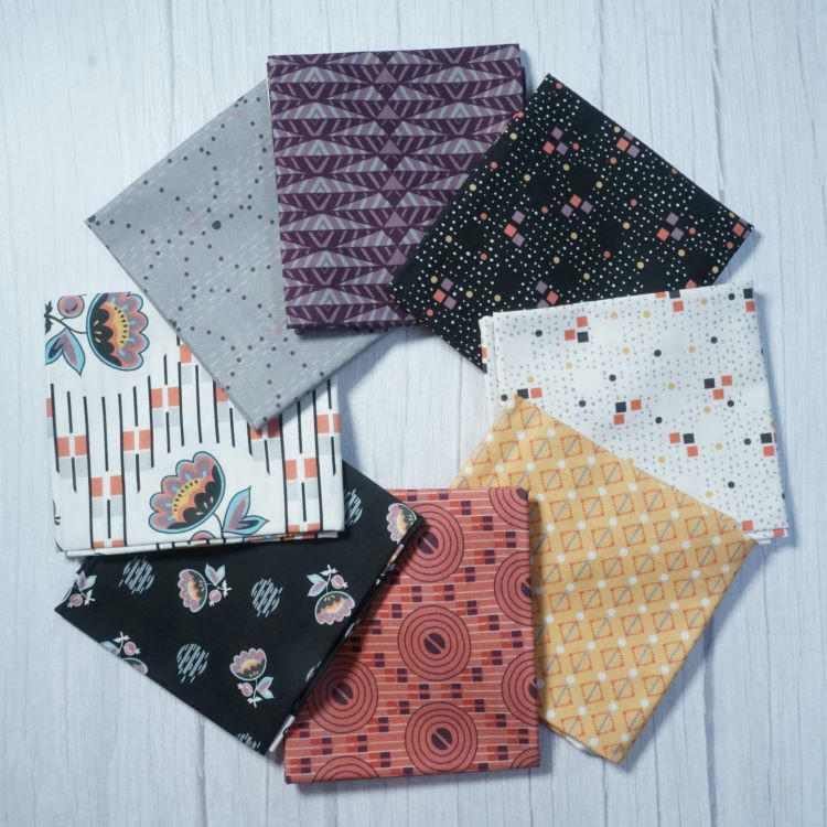Quilting Fabric - Fat Quarter Bundle from Coco Chic by Quilting Treasures