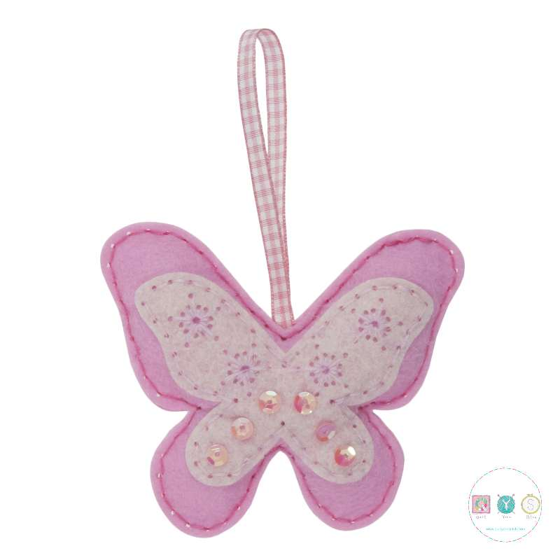 Gift Idea - Make Your Own Felt Butterfly Ornament by Trimits