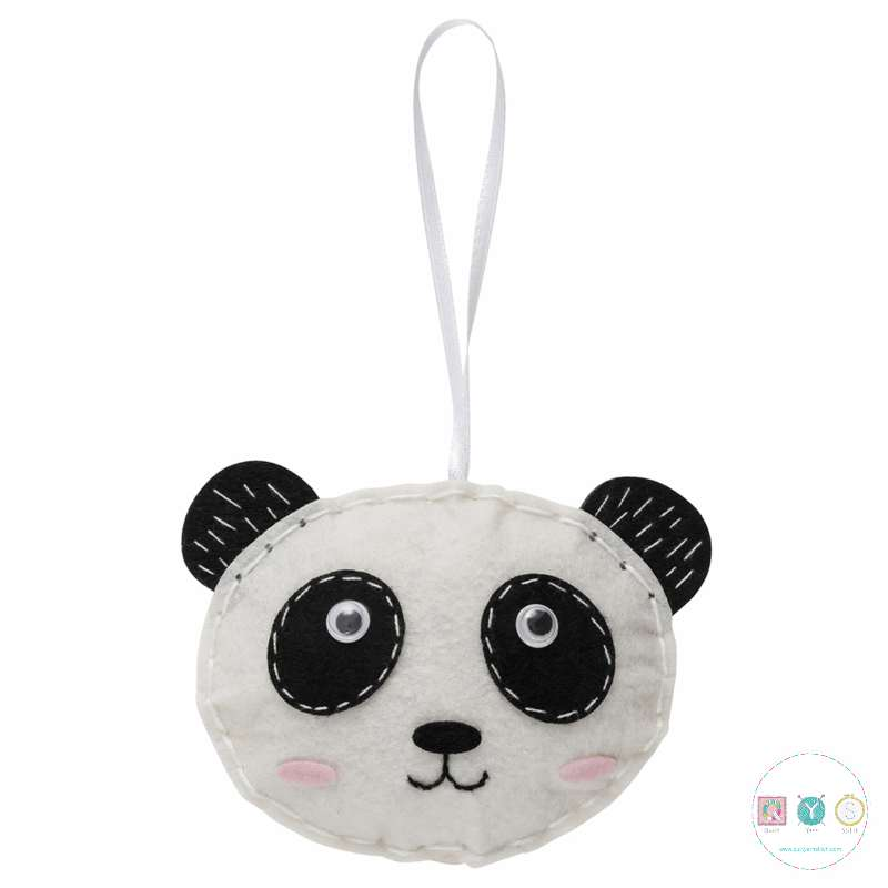 Gift Idea - Make Your Own Felt Panda Kit by Trimits