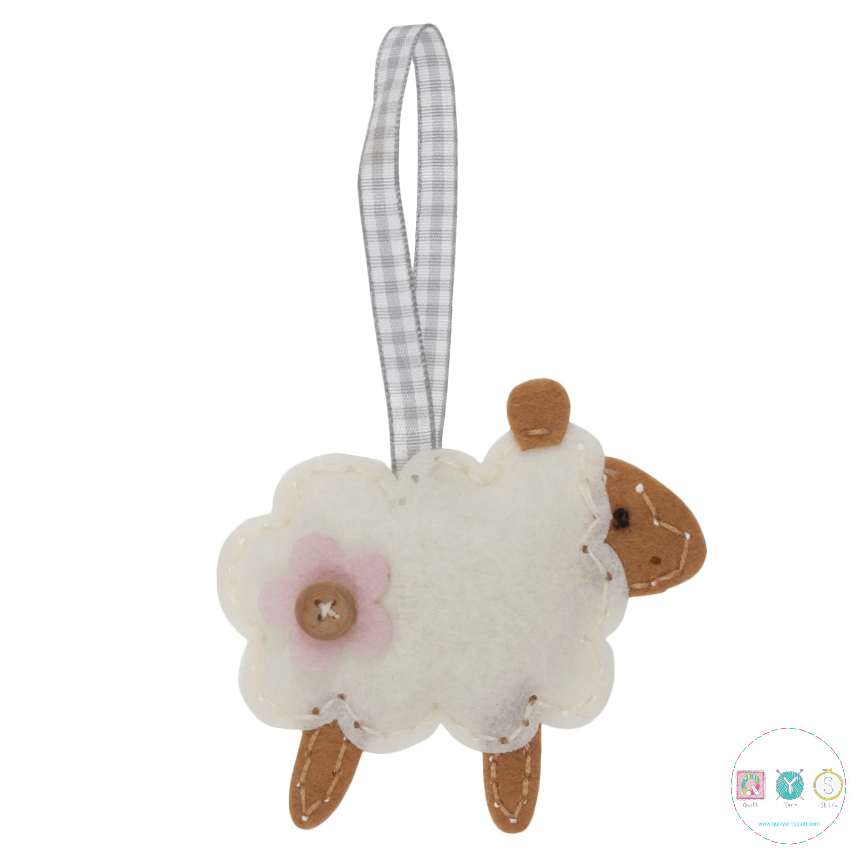 Gift Idea - Make Your Own Felt Sheep Kit by Trimits