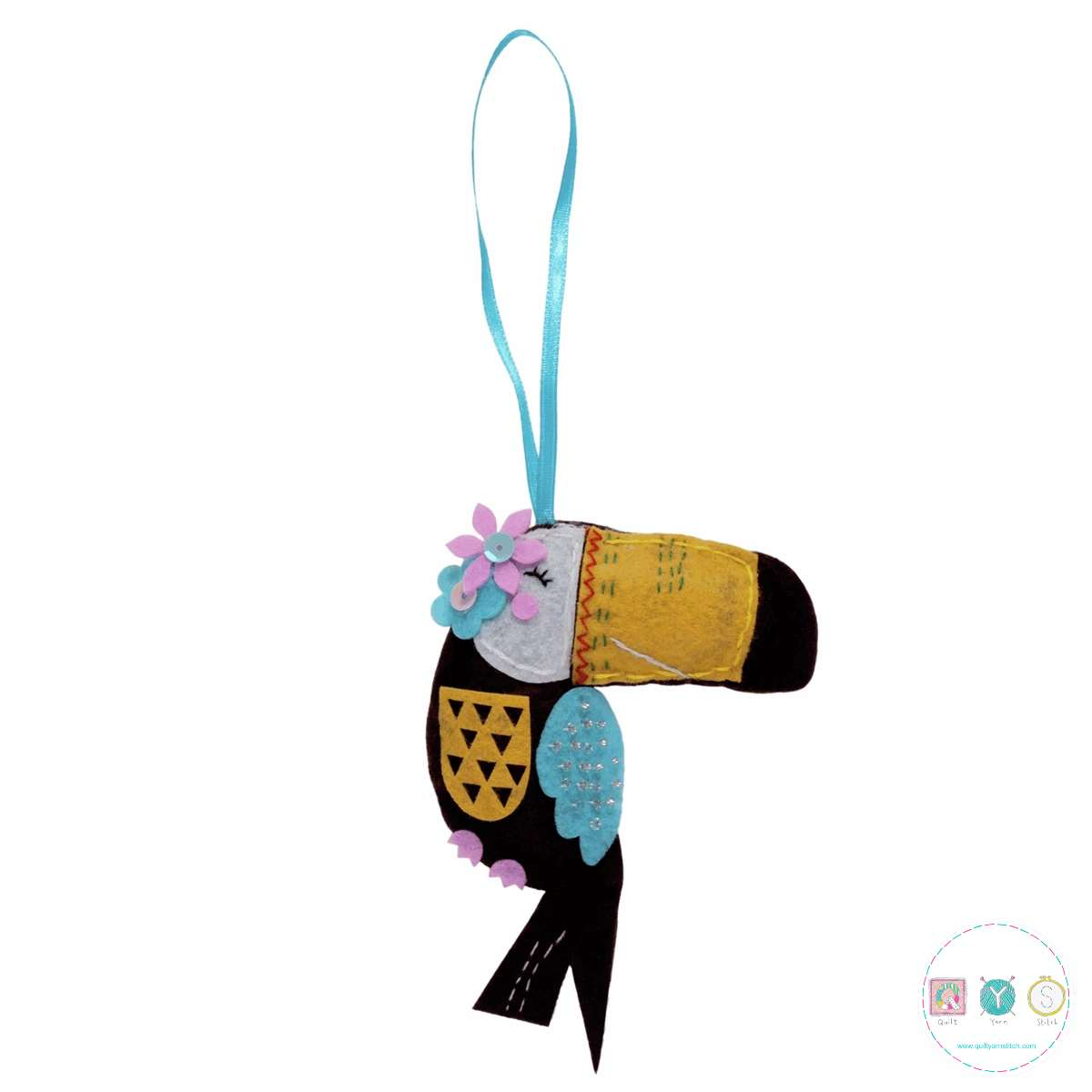 Gift Idea - Make Your Own Felt Toucan Kit - by Trimits