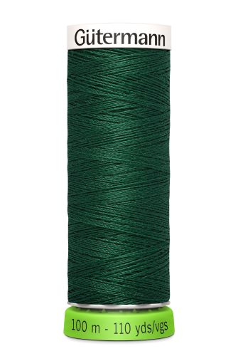Gutermann Sew All Thread - Forest Green Recycled Polyester rPET Colour 340