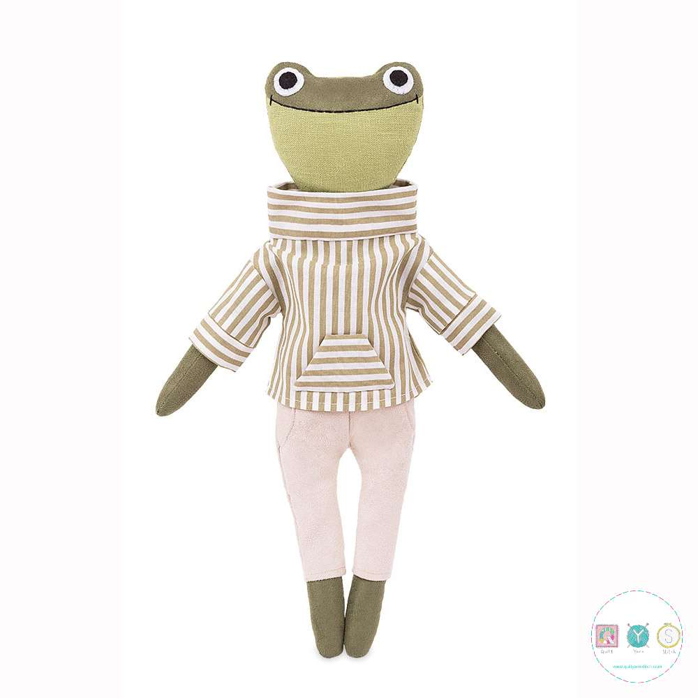 Gift Idea - Forrest The Froglet Sewing Kit  - D.I.Y Kit from MiaDolla - Make Your Own Toy - Gift