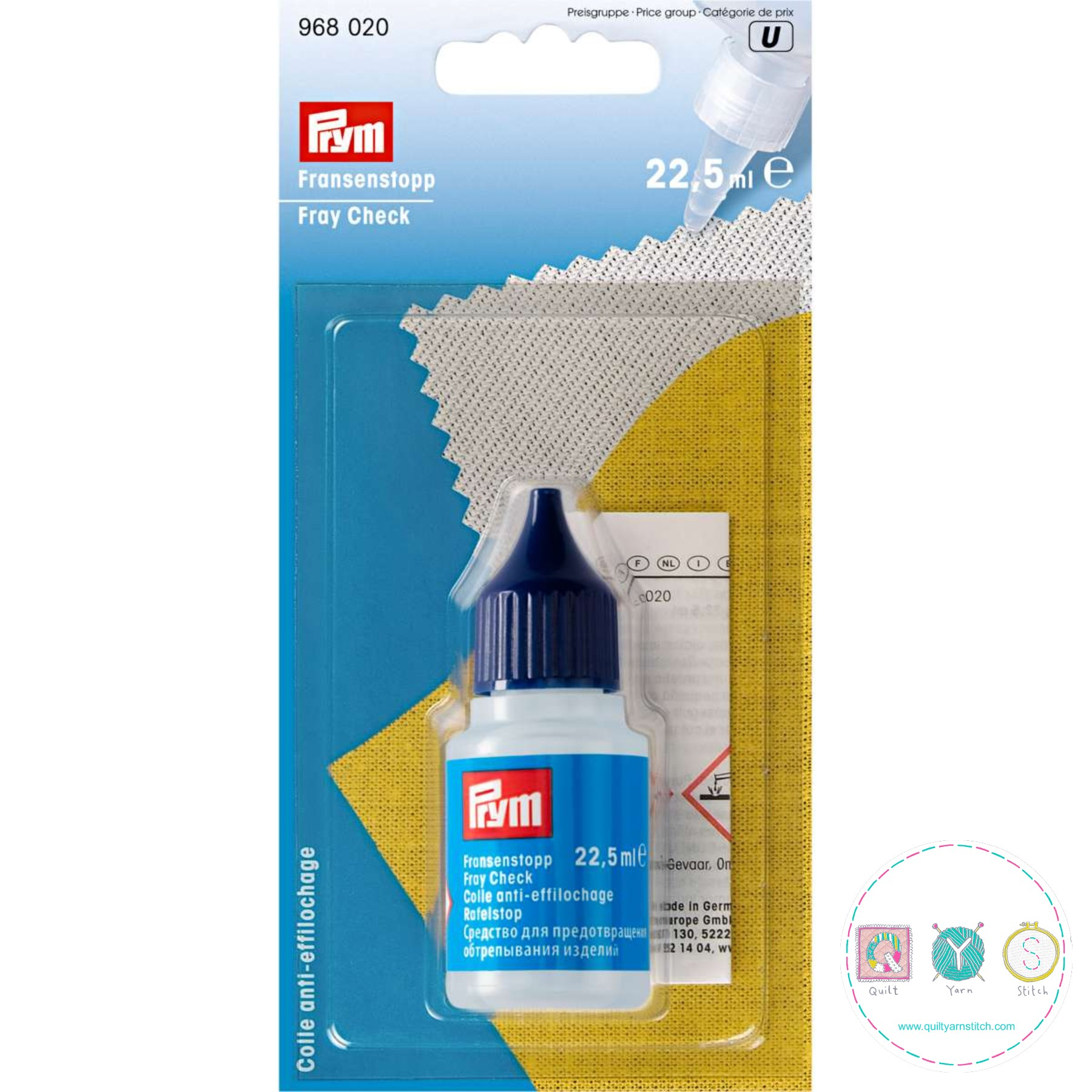 Prym - Fray Check - 968 020 - Sewing Accessories