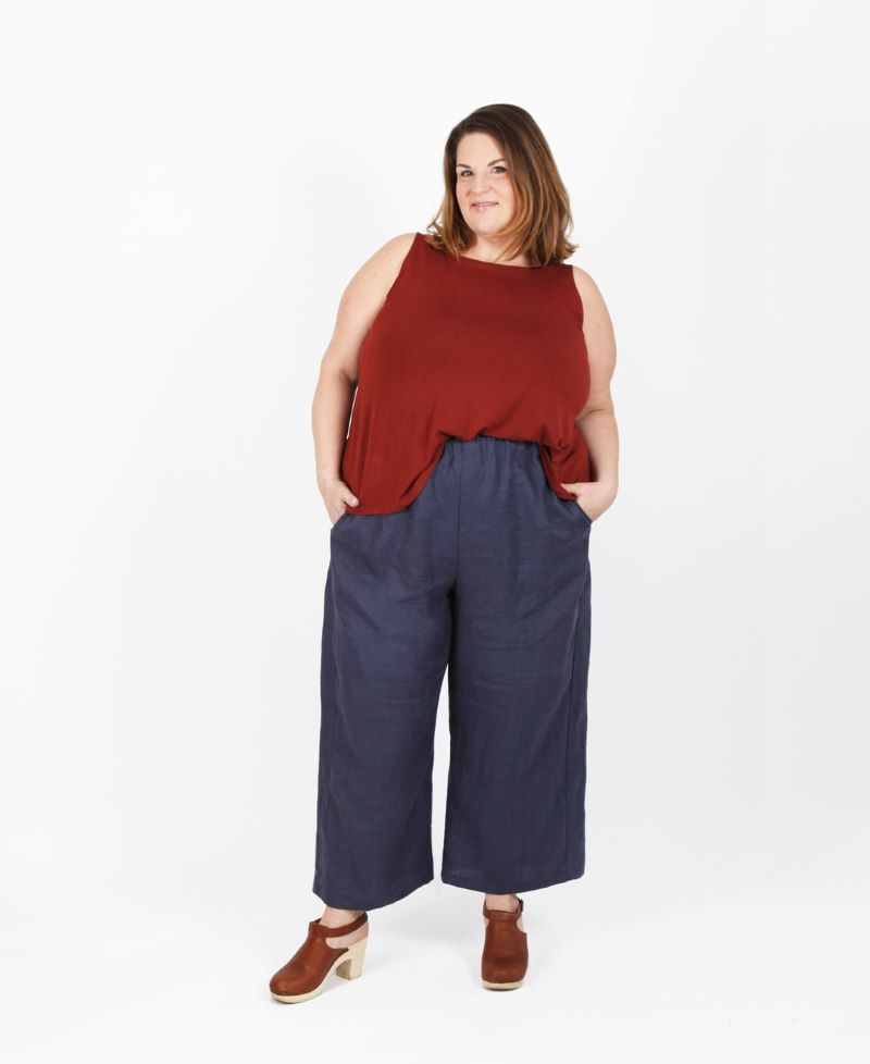 Free Range Slacks Curvy Sewing Pattern by Sew House Seven