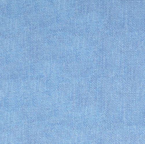 French Terry Fabric with Denim Look in Light Blue