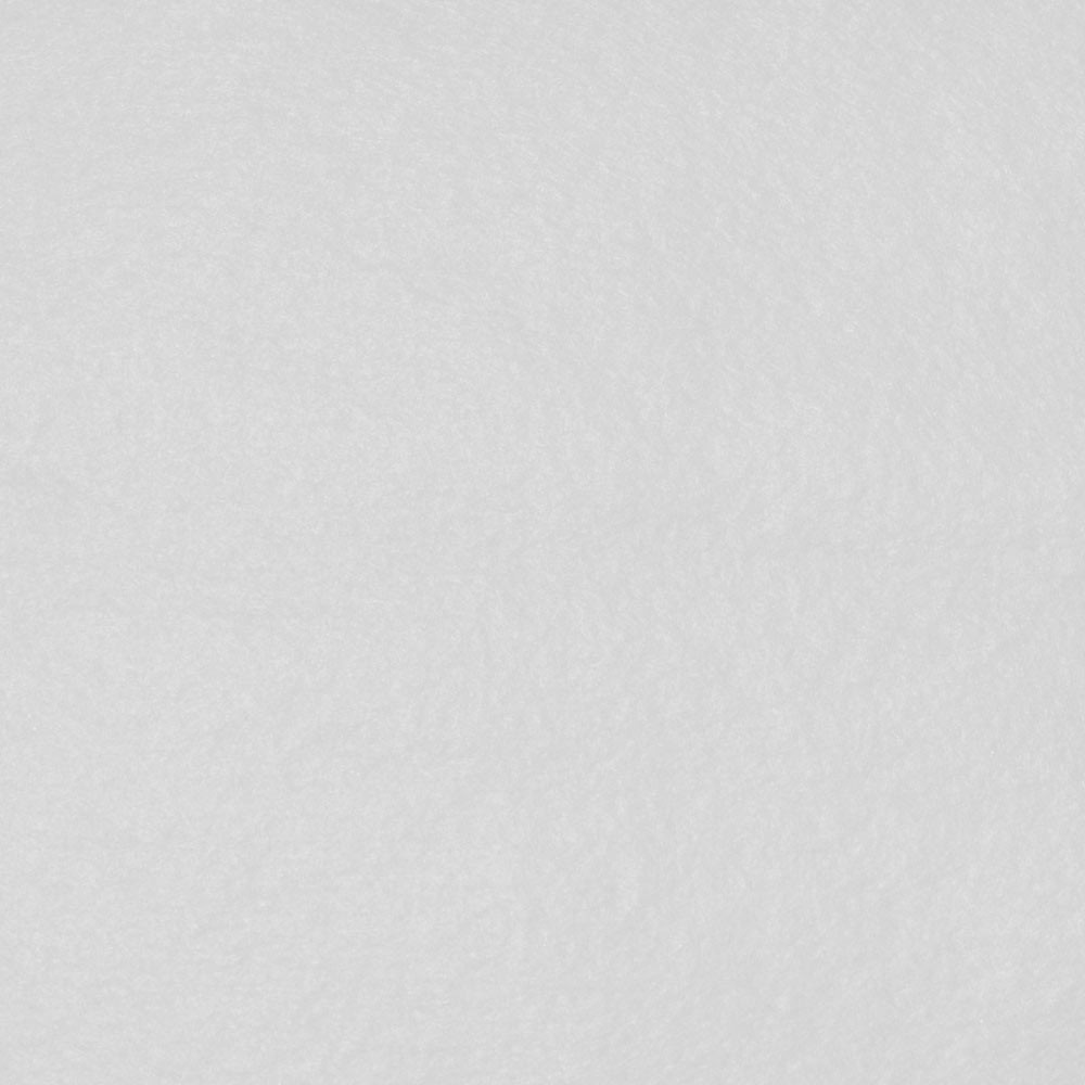 White Felt Sheet - 12