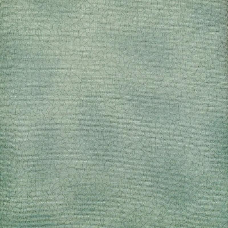 Moda Crackle Dust Jade 5746 130 - Green Blender Fabric - by Kathy Schmitz for Moda Fabrics