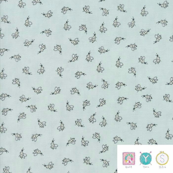 Buzzy Bees - Darling Little Dickens Fabric Collection by Lydia Nelson for Moda