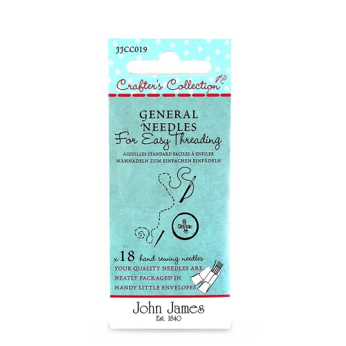 Easy Thread General sewing needle by John James