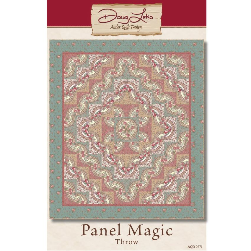 Gift Idea - Panel Magic Throw Size Quilt Kit