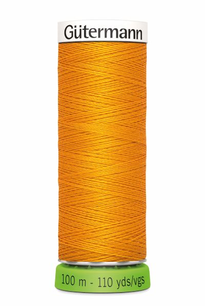 Gutermann Sew All Thread - Gold Recycled Polyester rPET Colour 362