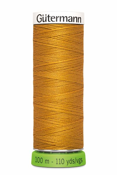Gutermann Sew All Thread - Golden Brown Recycled Polyester rPET Colour 412